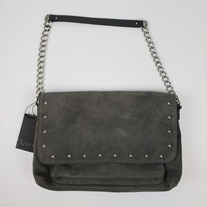 NWT Talbots Suede Studded Purse